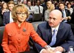 Gabrielle Giffords addresses a senate committee this week