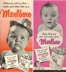 Before Marlboro identified with the cowboy, ads appealed to moms