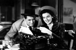 Reporters in the 1940 film, His Girl Friday