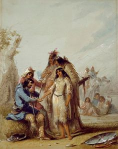 475px-Alfred_Jacob_Miller_-_The_Trapper's_Bride_-_Walters_37194012