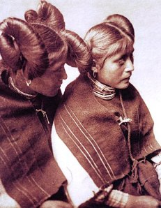 Hopi girls from the US Library of Congress