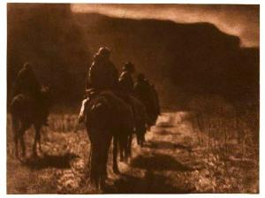 The Vanishing Race by Edward S. Curtis