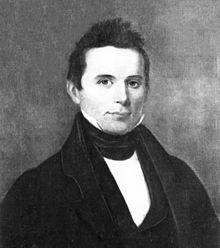 Elias Boudinot (Gallegina Uwati) was editor of the Cherokee Phoenix, the first American Indian newspaper