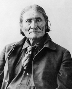 Geronimo's (Goyahkla) grave was robbed and his bones stolen