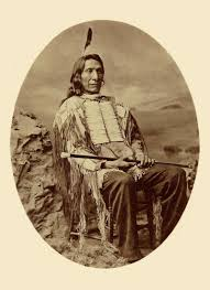 Although Red Cloud signed the peace-making Fort Laramie Treaty, he decried reservation life that ensued