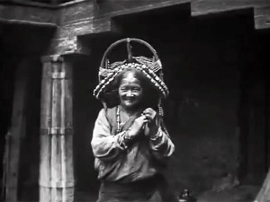 Tibetan woman from the Epic of Everest