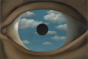 Le Perreux-sur-Marne (The False Mirror) by René Magritte (1928)