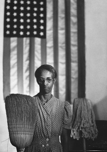 American Gothic, Washington, D.C., 1942
